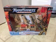 TRANSFORMERS UNIVERSE RUINATION WALMART EXCLUSIVE DECO BRUTICUS SEALED G1 G2