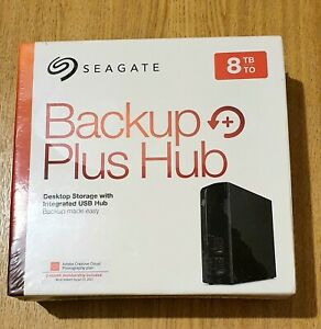 Seagate STEL8000200 8TB Backup Plus Hub Desktop Drive