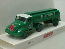 WIKING 080049 H0 LKW Magirus s 3500 Tanksattelzug Rheinpreussen