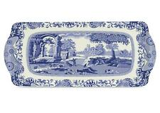 Pimpernel Blue Italian Melamine Serving Sandwich Tray 38.5x16.5cm Kitchen Dining