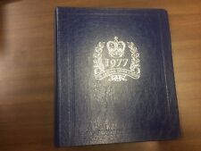 White Ace Stamp Album Binder for Queen's Silver Jubilee, New!