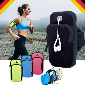 ArmTasche Handy Hülle Sport Arm Tasche Armband Bag für Fahrrad Laufen Fitness DE