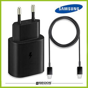 Original Samsung TA800 Schnellladegerät 25W+USB-C Ladekabel Galaxy S21 Ultra 5G