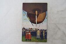 pc Deutschland air balloon Heißluftballon SB infantry Field post Feldpost 1917