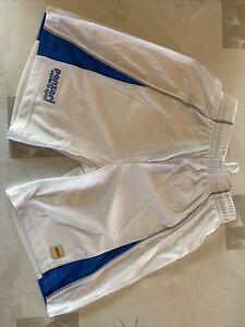 Short Sport Multisport Panzeri Blanc Et Bleu , Marque Taille XS