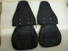 1970 - 1978 Datsun 240Z/260Z/280Z Synthetic Leather Black Seat Covers