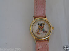 Mickey & Minnie Mouse Pink Watch