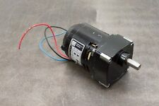 Bodine Electric Nci 11 D4 Gear Motor 115 Volts 1 Phase Gearmotor 17 Rpm 190 Hp