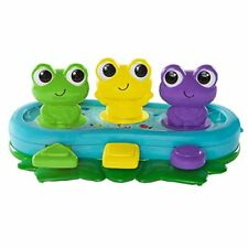 Bright Starts Musical Toy, Bop and Giggle Frog
