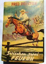 Leihbuch Wildwest Western - Fred Preston - Spiel zwischen Feuern Wikukind Balve