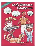 Kid's Keyboard Course Learn to Play Beginner Easy Tutorial Lesson MUSIC BOOK 1
