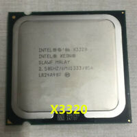 Intel Xeon X3320 CPU Quad Core 2.5GHz 1333MHz 6MB SLAWF LGA775 Processors