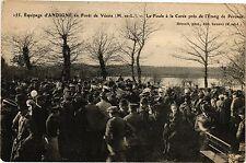CPA  Équipage d'Andigné en Forét de Vésins (M.-et-L.) - La Foule á ...  (207117)