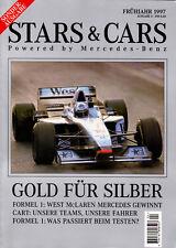 Stars & Cars 1997 German text - Mark Blundell,  Gentlemen, Cart Your Engines