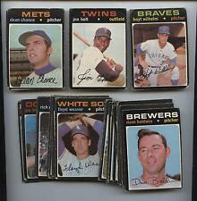 1971 OPC Baseball Starter Set 54 Different VG-EX