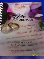 The Wedding Workbook Help Instruction Book Gift Planner Planning Guide Aid