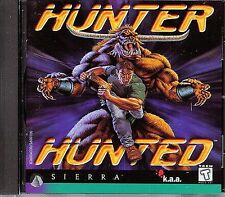 HUNTER HUNTED by Sierra PC Game CD-ROM MINT condition