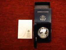 2004 U.S. PROOF SILVER EAGLE - BLAZING 1 OZ. .999 FINE SILVER DOLLAR COIN - NICE