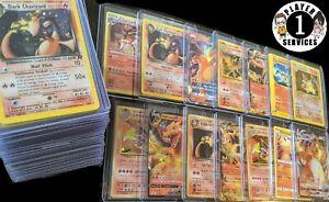 🔥 CHARIZARD GUARANTEED 🔥 50 REAL Pokemon Cards Lot & BONUS Vintage WOTC 1999
