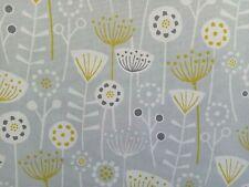"""BERGEN"" Fryett's Fabrics Exclusive Design  ""GREY"" Colour PER METRE"