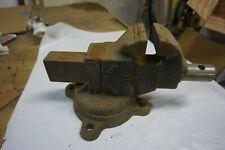 "New listing Vintage Rock Island 571 Vise 3 "" Jaws - Swivel Base anvil Old Usa Tool"