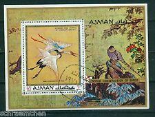 Ajman Block 273 A , o , Motiv Tiere - Vögel