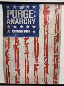 The Purge: Anarchy., Original UK One Sheet Movie Poster