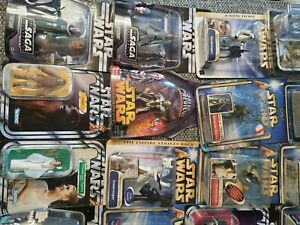 star wars grosse Sammlung bestehend aus 53 Figuren aller Serie plus 3 Battlepac