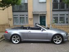 Bmw 6 Series 630I Convertible 2005 With Private Plate 64K Miles FSH 4 Keys