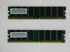2GB 2X1GB DDR400 PC3200 400Mhz DDR 184pin DDR1 Desktop Memory Dimm Low Density