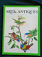 1982 Art & Antiques Rodin Sculptures John James Audubon Photography Nantucket A+