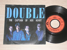 "DOUBLE - CAPTAIN OF HER HEART / YOUR PRAYER TAKES ME OFF - 45 GIRI 7"" GERMANY"