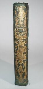 1880s The Universal Letter Writer Polite Correspondence by Rev T Cooke Grammar