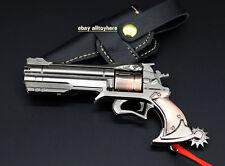 1/4 HOT Blizzard Game OVERWATCH Jesse·Mccree Ninjia GENJI Revolver Magnum gun