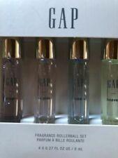 GAP Fragrance Rollerball Set 4 X 0.27 oz Travel Size So Pink~Dream~Heaven~Dream+
