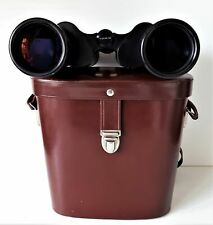CARL ZEISS ~ JENA JENOPTEM BINOCULARS ~ DDR ~ 10 x 50 WIDE ANGLE ~ MULTI-COATED