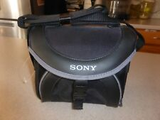 NEW Sony Black Camera Carrying Case Bag Shoulder Strap LCS-X20