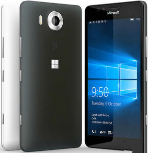 Microsoft Nokia Lumia 950 32GB Factory Unlocked Windows Smartphone White Color
