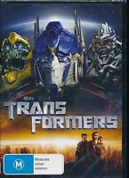 Transformers DVD NEW Region 4