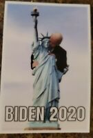 Anti Joe Biden Funny Political Sticker Statue Of Liberty Biden 2020 Creepy JOE