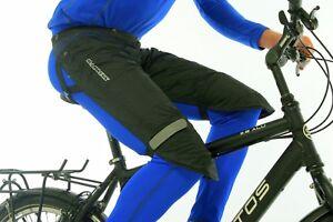 Rainlegs Black Waterproof Leg Wet Weather Protector Cycling Touring Horse Golf