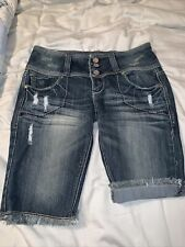 Women's Almost Famous Jean Shorts Size 7