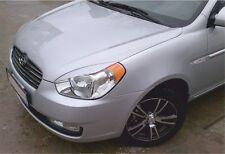 Cilia head lights Headlights eyebrows Hyundai Accent 2005-Design eyebrows type 3