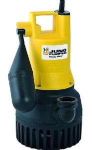 Jung U6 K ES Tauchpumpe 230V 4 m Schmutzwasserpumpe Abwasserpumpe Drainagepumpe