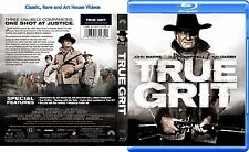 True Grit ~ New Blu-ray ~ John Wayne, Glen Campbell, Kim Darby (1969)