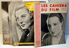 """RARE-4 N° de la revue Bi-mensuelle """" LES CAHIERS du FILM """"-1933 / 1941- M.PAGNOL"""