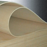 5 mm Flexible Plywood Sheet, Curved Flexi Ply in A6 A5 A4 A3 A2 A1 for DIY