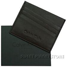 Portacards-carte di credito CALVIN KLEIN mod: D03S01G - Marrone