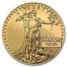 1 oz Gold American Eagle Coin Random Year BU - SKU #84672