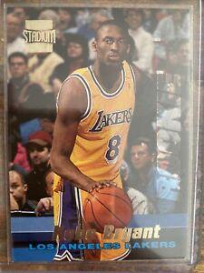 1996-97 Topps Stadium Club #12 KOBE BRYANT RC Rookie Card Lakers Black Mamba